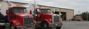 Wenger Feeds Truck Garage