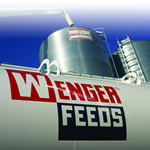 Wenger Feeds Truck Delivering Feed photo